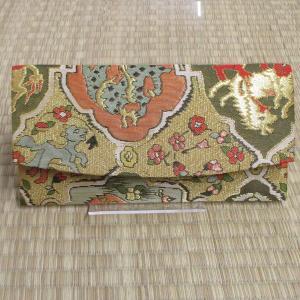 高台寺所蔵秀吉陣羽織鳥獣文様綴織 足袋入れ|rakusaicollection