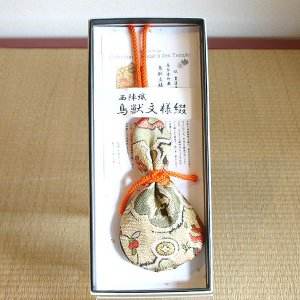 高台寺所蔵秀吉陣羽織鳥獣文様綴織 掛け香|rakusaicollection