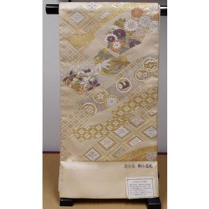 【送料無料!】西陣織正絹 袋帯(唐織、つづれ)|rakusaicollection