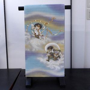【送料無料!】西陣織正絹 袋帯(風神雷神)|rakusaicollection
