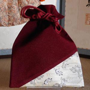 オリジナル 角平巾着(ベージュ)|rakusaicollection