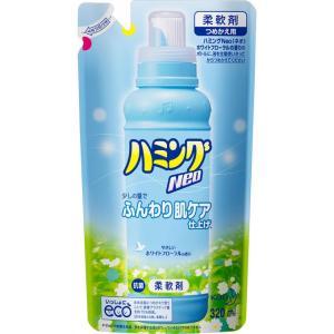 花王 ハミングファイン Neo ホワイトフローラルの香り 詰替用 320ml|rakushindenki