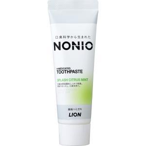 NONIO ノニオ ハミガキ スプラッシュシトラスミント 130g ライオン 歯磨き粉