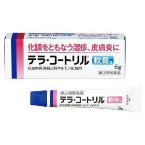 (指定第2類医薬品)武田コンシューマーヘルスケア テラ・コートリル軟膏a 6g