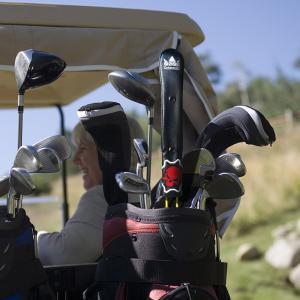 ★税込★CRAFTSMAN アライメントスティックカバー ツアースティック用レザーヘッドカバー ゴルフアクセサリー ALIGNMENT STICK COVER スカルシリーズ|rakushogolf
