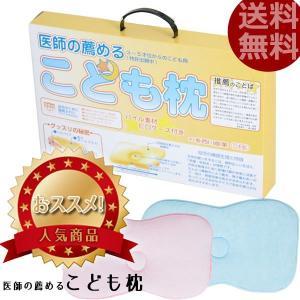 枕 西川 子供用まくら 医師のすすめるこども枕 パイルのピロケース付 日本製 rakusouya