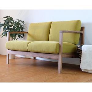 二人掛けソファ 2人掛け ファブリック オーガニック|rakusouya