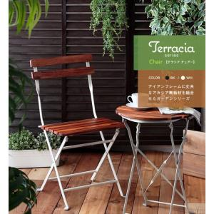 庭 ベランダ 屋外 アウトドア Terracia/テラシア 折り畳みチェア|rakusouya