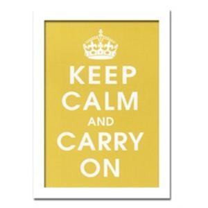 ウォールデコレーション アートパネル モダン 絵 Vintage Reproduction/Keep Calm (mustard) sd3097121 rakusouya