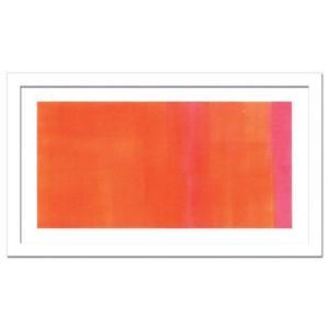 ウォールデコレーション アートパネル モダン 絵 Susanne Atahli Orange-Magenta,2005 sd3097077 rakusouya