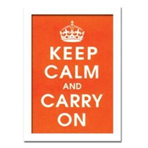 ウォールデコレーション アートパネル モダン 絵 Vintage Reproduction/Keep Calm (orange) sd3097122 rakusouya