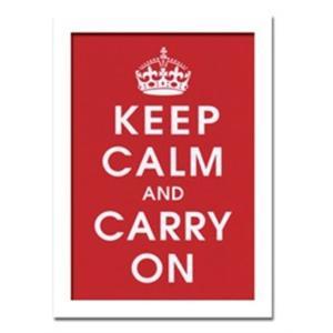 ウォールデコレーション アートパネル モダン 絵 Vintage Reproduction/Keep Calm (Red) sd3097124 rakusouya