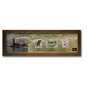 ウォールデコレーション アートパネル モダン 絵 切手 アンティーク Stamp Collection/スウェーデン sd3067194 rakusouya