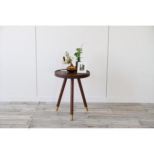 サイドテーブル emo ミッドセンチュリー ウォルナット|rakusouya