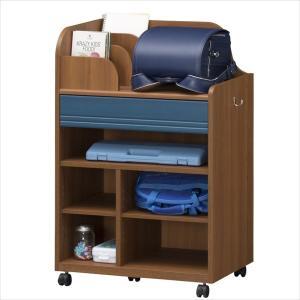 子供部屋 収納 子ども部屋 ランドセルラック こども用 LAK-9565W DK|rakusouya