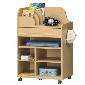 子供部屋 収納 子ども部屋 ランドセルラック こども用 LAK-9565W NA|rakusouya