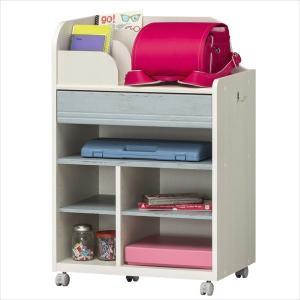 子供部屋 収納 子ども部屋 ランドセルラック こども用 LAK-9565W WH|rakusouya