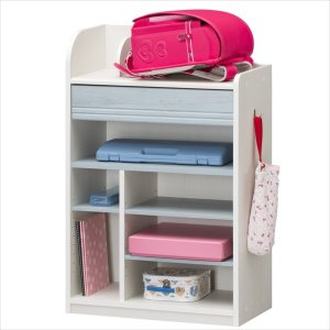 子供部屋 収納 子ども部屋 ランドセルラック こども用 LAK-9565H WH|rakusouya