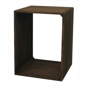 収納 ラック 棚 スリム コンパクト 省スペース ウッドボックス 木箱 アンティーク 店舗ディスプレイ用品 おしゃれ シンプル デザイン コンパクト rakusouya