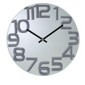 掛け時計 壁掛け時計 室内時計 ウォールクロック おしゃれ デザイン ジョージ・ネルソン mirror wall clock ミラーウォールクロック|rakusouya