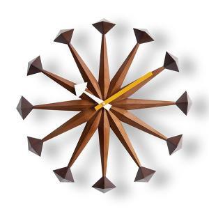 掛け時計 壁掛け時計 室内時計 ウォールクロック おしゃれ デザイン ジョージ・ネルソン ポリゴンクロック|rakusouya