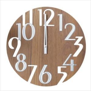 掛け時計 壁掛け時計 室内時計 ウォールクロック おしゃれ デザイン ジョージ・ネルソン ナンバークロック ウォールナット|rakusouya