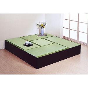 ※12月上旬入荷分ご予約※収納ボックス 高床式ユニット畳 4.5畳セット|rakusouya