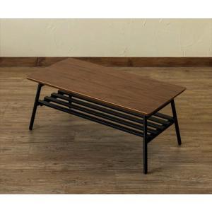 ローテーブル 座卓 ちゃぶ台 リビングテーブル コンパクト 折り畳み 折りたたみ 棚付き スクエア型 80cm 完成品 ウォールナット rakusouya
