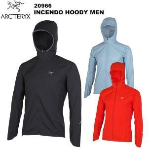 ミニマルなジャケットに高機能フードが付いたインセンドは、悪天候の中で行う山岳トレーニングやランニング...