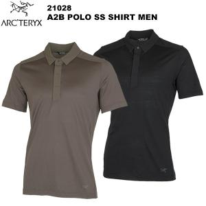 ARC'TERYX(アークテリクス) A2B Polo SS Shirt  Men's(A2B ポロシャツ メンズ) 21028 rakuzanso