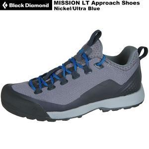 Black Diamond(ブラックダイヤモンド) Mission LT Approach Shoes Men's(ミッションLT メンズ) BD27050 ニッケル/ウルトラブルー rakuzanso