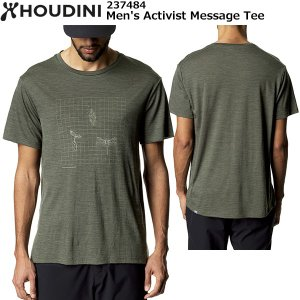 HOUDINI(フーディニ) Men's Activist Message Tee 237484|rakuzanso