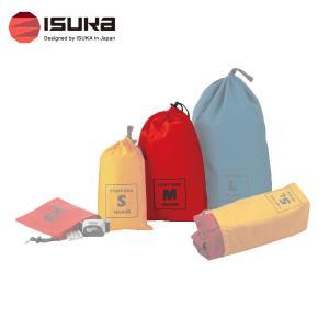 スタッフバッグ M 防水コ−ティング加工されたナイロン生地を使用したシンプルなスタッフバッグです。目...