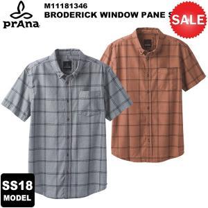 【30%OFF】prAna(プラナ) Broderick Window Pane SS M11181346 2018春夏モデル|rakuzanso