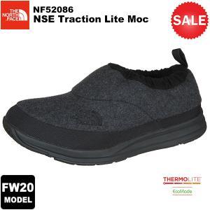 【30%OFF】THE NORTH FACE(ノースフェイス) NSE Traction Lite Moc (ヌプシトラクションライトモック) カラー/MG 2020-21秋冬モデル|rakuzanso