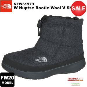 【30%OFF】THE NORTH FACE(ノースフェイス) W Nuptse Bootie Wool 5 Short(ウィメンズ ヌプシ ブーティー ウール5ショート) カラー/C 2020-21秋冬モデル|rakuzanso