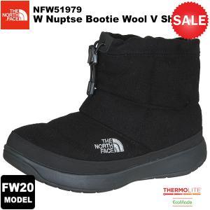 【30%OFF】THE NORTH FACE(ノースフェイス) W Nuptse Bootie Wool 5 Short(ウィメンズ ヌプシ ブーティー ウール5ショート) カラー/K 2020-21秋冬モデル|rakuzanso