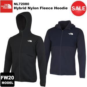 【30%OFF】THE NORTH FACE(ノースフェイス) Hybrid Nylon Fleece Hoodie(ハイブリッドナイロンフリースフーディ) NL72080 2020-21秋冬モデル|rakuzanso