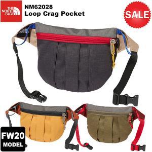 【30%OFF】THE NORTH FACE(ノースフェイス) Loop Crag Pocket(ループクラッグポケット) NM62028 2020-21秋冬モデル|rakuzanso
