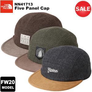 【30%OFF】THE NORTH FACE(ノースフェイス) Five Panel Cap(ファイブパネルキャップ) NN41713 2020-21秋冬モデル|rakuzanso