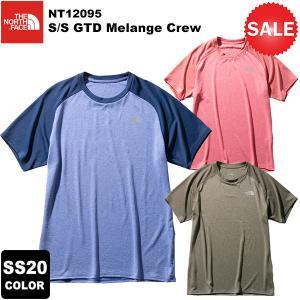 【30%OFF】THE NORTH FACE(ノースフェイス) S/S GTD Melange Crew(ショートスリーブGTDメランジクルー) NT12095 2020春夏カラー|rakuzanso