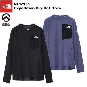 THE NORTH FACE(ノースフェイス) 【SUMMITシリーズ】Expedition Dry Dot Crew(エクスペディションドライドットクルー) NT12123【ウィメンズサイズ】|rakuzanso