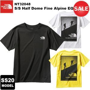 【30%OFF】THE NORTH FACE(ノースフェイス) S/S Half Dome Fine Alpine EQ Tee(S/Sハーフドームファインアルパインイーキューティー) NT32048 2020春夏モデル|rakuzanso
