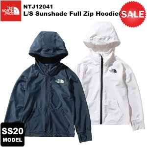 【30%OFF】THE NORTH FACE(ノースフェイス) L/S Sunshade Full Zip Hoodie(KIDS)(ロングスリーブサンシェードフルジップフーディ) NTJ12041 2020春夏モデル|rakuzanso