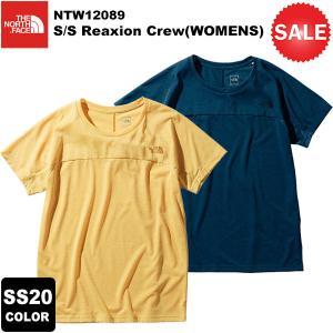 【30%OFF】THE NORTH FACE(ノースフェイス) Reaxion Crew Tee(WOMENS)(ショートスリーブリアクションクルー) NTW12089 2020春夏カラー|rakuzanso