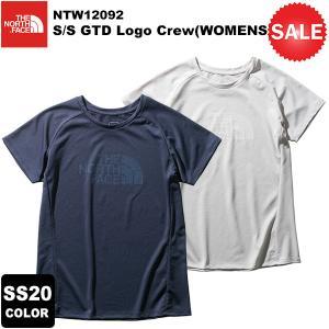 【30%OFF】THE NORTH FACE(ノースフェイス) S/S GTD Logo Crew(WOMENS)(ショートスリーブGTDロゴクルー) NTW12092 2020春夏カラー|rakuzanso