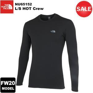【30%OFF】THE NORTH FACE(ノースフェイス) L/S HOT Crew (ロングスリーブ ホット クルー) NU65152 2020-21秋冬モデル|rakuzanso