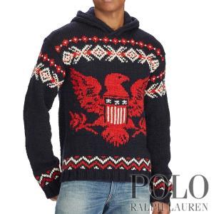 ポロラルフローレン : Intarsia Merino-Blend Sweater [メリノブレンド...