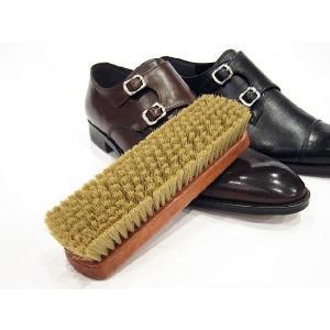 M.MOWBRAY(M.モゥブレィ) プロ・ホワイトブラシ  ツヤ出し、仕上げ用靴ブラシ ramblebyziema