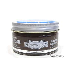 M.MOWBRAY(M.モゥブレィ) シュークリームジャー ダークブラウン/茶 (保革・補色・艶出しクリーム) 靴クリーム・シューケア用品|ramblebyziema
